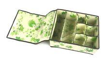 Periea cassetto portaoggetti, scatola di immagazzinaggio, il Guardaroba Organizzatore, Calzini-Colleen-Verde