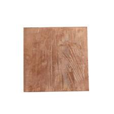 99.9% Pure Copper Cu Metal Sheet Plate 0.8mm*100mm*100mm Pop UK