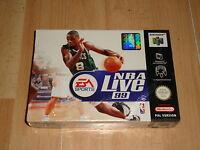 NBA LIVE 1999 NUS-P-N9BP DE EA SPORTS PARA LA NINTENDO 64 N64 NUEVO PRECINTADO