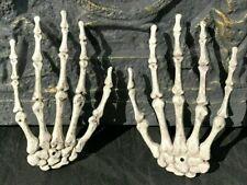 Halloween Skull Skeleton Human Hands Bone Zombie Party Terror Adults Scary Props