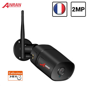 1080P HD Wifi Caméra Sans Fil Sécurité Surveillance Infrarouge Extérieur ANRAN