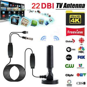 HD TV Antenna Indoor Television USB Amplifier Digital HDTV Car TV Aerial ONY