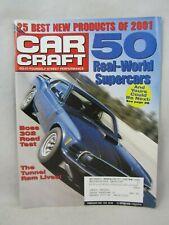 Car Craft Magazine  -  February  2001 ,  50 Real-World Supercars.  (619)