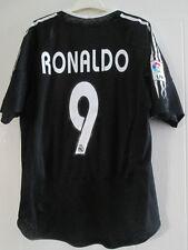 Real Madrid 2004-2005 Ronaldo 9 Away camiseta de fútbol Tamaño Mediano / 39095