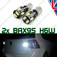 2x H6W BAX9S Super Bright White Canbus No Error REVERSE LIGHT SMD LED Bulbs