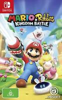 Mario + Rabbids Kingdom Battle Family Kids Adventure Game For Nintendo Switch
