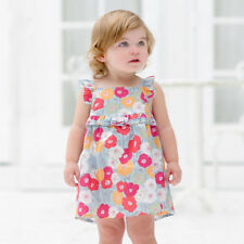 Girls Floral Dress Size 1 Year 12 months Brand New