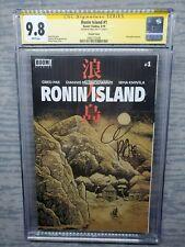 CGC Graded 9.8 Ronin Island #1 Variant signed by Greg Pak