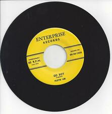 Reissue Rockabilly 45-Floyd Lee-Go Boy / Give Your Love To Me-Enterprise 1233