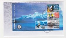 2008 Australia Antarctic, Polar Year SG MS 184 First Day Cover or Fine Used
