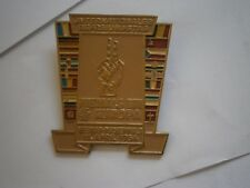 Weimar Buchenwald Memorial Pin badge International Liberation Day Meeting 1954