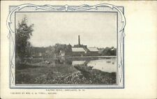 Ashland NH Paper Mill c1910 Postcard