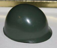 Vintage GI Joe Hasbro Green ARMY Helmet w/Strap - Excellent Condition