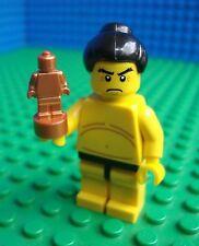 Lego Sumo Wrestler minifig Trophy Japan Town City 8803 Minifigures Series 3