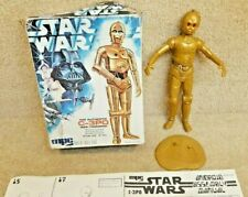 Vintage 1977 Star Wars MPC 10 Inch C-3PO Model Kit with Box & Instructions