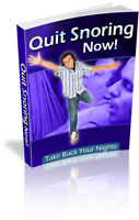 Quit Snoring Now! Take Back Your Nights! Sleep ebook-pdf book kindle FREE e-mail