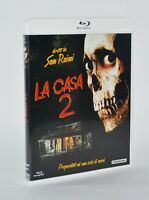 LA CASA 2 EVIL DEAD II 1987 SAM RAIMI BRUCE CAMPBELL BLU-RAY RARO FUORI CATALOGO