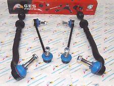 6 NEW Stabilizer Link Tie Rod End Inner & Outer BMW E39 525i 528i 530i EV800292
