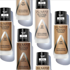 Almay Skin Perfecting Comfort Matte Foundation ~ Choose Your Shade