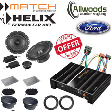 Match Amp & harness PP62DSP+Harness+Helix F 62C Component Upgrade Ford Mondeo