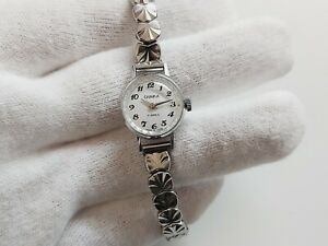 Nice CHAIKA USSR Vintage Hand-Winding Mechanical Ladies Watch Uhr-Reloj-Montre