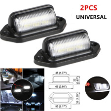 Universal LED Passenger Trailer Truck Off-road Vehicle  High Licence Pedal Lamps
