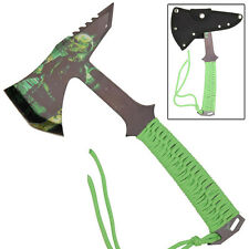 Reborn Zombie Tactical Stainless Steel Survival Outdoor Target Throwing Axe