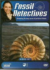 FOSSIL DETECTIVES - 4 DVD BOX SET - SECRETS OF PRE-HISTORIC BRITAIN