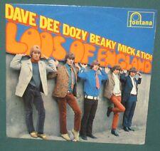 Dave Dee Dozy Beaky Loos Of England EP UK Fontana NM 1966