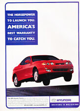 2000 Hyundai Tiburon - Launch - Classic Vintage Advertisement Ad D178