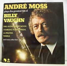 "33 tours ANDRE MOSS Disque LP 12"" GREATEST BILLY VAUGHN - EMI 25747  Clarinette"