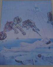 Kunstdruck nach S, Dali, ger/Glas, RG 62x50 cm (256/13008)