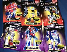 Hasbro Transformers G1 Limited Edition MICRO Mini Figures Complete Set- Lot Of 6