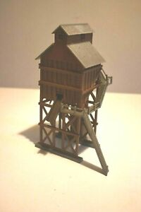 HO scale COALING TOWER assembled