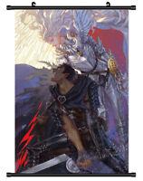 4749 BERSERK Kentaro Miura Decor Poster Wall Scroll cosplay