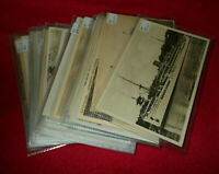 VINTAGE SHIPPING POSTCARDS INC INTERIORS POSTALLY USED & UNUSED -SELECT POSTCARD