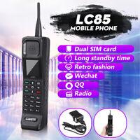 Luxury Retro Brick Phone Dual SIM Mobile Phone Large Volume Classic Telephone