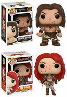 Funko POP! Movies ~ BLOODY CONAN & BLOODY RED SONJA VINYL FIGURE SET ~ PX Excl.
