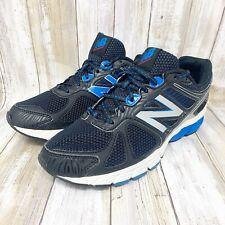 New Balance Men's 670 v1 Athletic Running Shoes Black/Blue/White Size 8.5