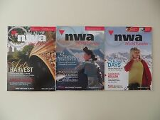 Northwest Airlines World Traveler Inflight Magazines Oct Nov Dec 2007 =