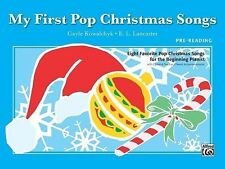 My First Pop Christmas Songs: Eight Favorite Pop Christmas Songs for the Beginni