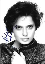 Isabella Rossellini Autogramm signed 13x18 cm Bild s/w