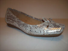 New NATURALIZER N5 COMFORT VANESSA Multi/Gold snake print low ballet shoes 9W