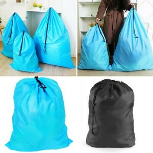 Extra Large Heavy Duty Laundry Bag Sack With Drawstring Commercial Style Durable