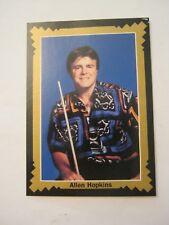 Allen Hopkins 1993 Pro Billiards Tour, Portrait, Card #18 (MS-15)