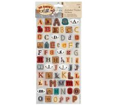 Mr Smith's Workshop - Alphabet Thicker Stickers - 150pcs - 3D