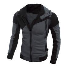 Winter Men's Retro Long Sleeve Hoodie Hooded Sweatshirt Tops Jacket Coat Outwear