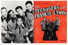 The Teenagers with Frankie Lymon Souvenir Programme May 1957