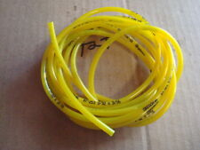 50 ft Yellow Oregon Fuel Line ID 3/32  X OD 3/16   used w/ ethanol