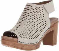 Women's Dansko Comfort Sandal Clog Danae Oyster Milled Nubuck Leather